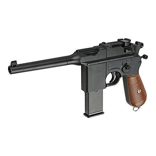 Galaxy Airsoft Type Mauser M712 / C96 Full Metal à Ressort/Spring/Rechargement Manuel (0.4 Joule)