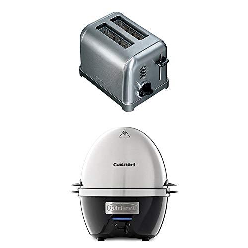 Cuisinart CPT160E Toaster 2 fentes extra larges, 900 W, Acier brossé