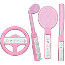 Competition Pro Wii Sports Pack - Pink (Wii) [Importación inglesa]