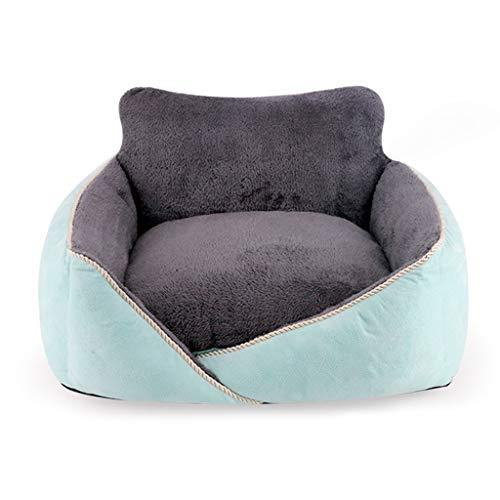 Wildleder Kleine Hundebett Halten Warme Katzenbett Sofa-Stil Couch Pet Bed Sleeper Plüsch Matratze Pet Produkte für Kleine und Mittlere Hund Und Katze (größe : L) - Sofa Couch Sleeper