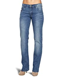 Wizard Jeans Mid Rise Straight Leg Womens Jeans