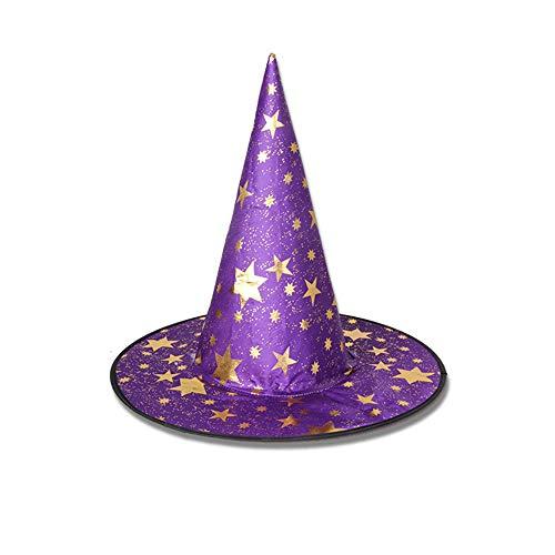Halloween Hexenhut - Frauen Mädchen Moderne Hexenhut Bunte Wizard/Hexenhut Halloween-Kostüme für Kinder Kinder Halloween Props, - Assistenten Kostüm Kinder
