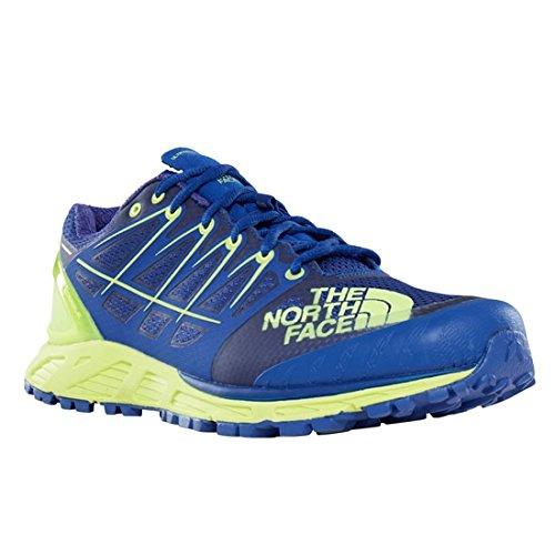 The North Face Ultra Endurance II, Chaussures de Fitness Homme, Bleu (Bright Blue/Dayglo Yellow 4Cu), 44 EU