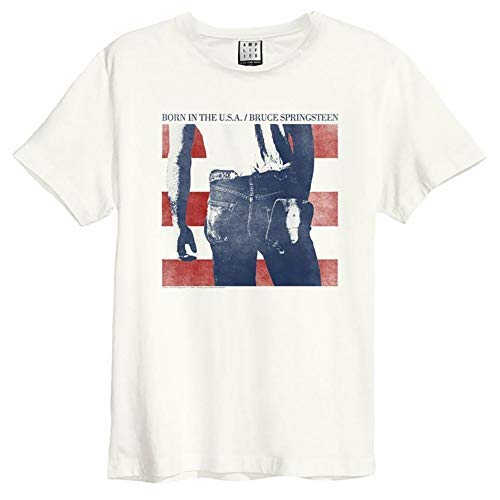 Amplified Shirt Bruce Springsteen Born In The USA Offwhite S