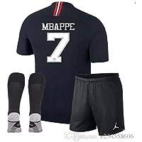 maillot MBAPPE Jordan PSG 10 ans/140cm Environ Short + Chaussettes Noirs modèle 2019 Répliqua Générique +