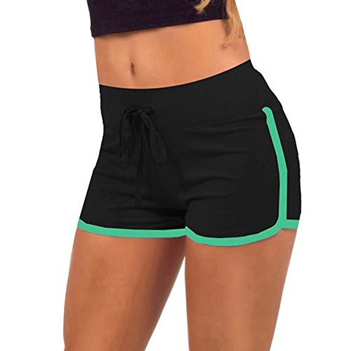 Balai-Women-Hot-Pants-Sports-Shorts-Waistband-Summer-Fitness-Yoga-Short