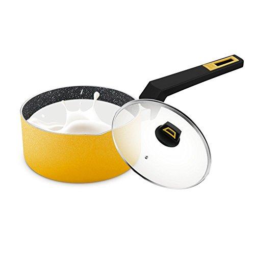 Cucsaist Hähnchenbrust Topf, Babynahrung, Non Stick Mini Topf, Mini Nudel Kochgerät, Universal Herd (Hähnchenbrust 100%)