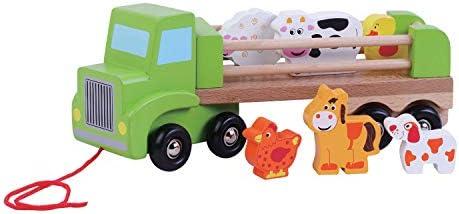 Jouet en bois, Camion de ferme avec animaux, animaux, animaux, par jumini ® | Qualité Et Quantité Assurée  acb2d0