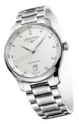 New Longines Master Collection Automatic con diamante marcatori trasparente cassa posteriore orologio da uomo
