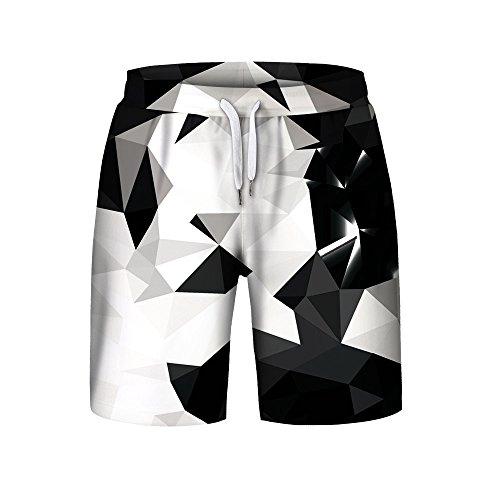 ➤Refill➤ Badeshorts für Herren, Herren Badehose Sommer Badeshorts 3D Print Grafik Strand Surf Board Shorts