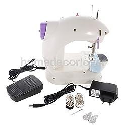 Akruti Electric Multi-Function Portable Mini Desktop Household Sewing Machine 202