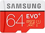 #10: Samsung Evo+ 64GB Micro SD Card with Adapter 95 MB/s Transfer Speed Class 10
