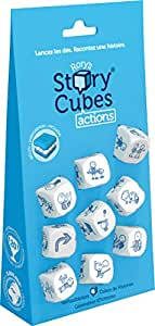 Asmodee Story Cubes Starter Blister Actions - Bleu, STO2HANG