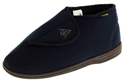 Dunlop Dmh7595 Hombre Azul Marino Ajustables Velcro Ortopédicos Botas Zapatillas EU 42