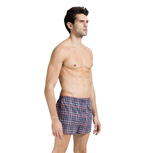 Surenow Pantaloncini da Uomo in Cotone Casuali Arrow Vita Bassa Elastica Pantalone Tuta Casa Exlarge colore 1