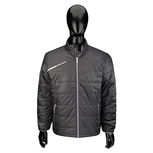 Bauer Flex Bubble Jacke Senior S17, Größe:M;Farbe:schwarz Bauer Softshell