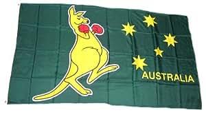 Drapeau-drapeau australie kangourou 60 x 90 cm
