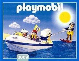 PLAYMOBIL 3009   MOTOR BOAT / AGUA