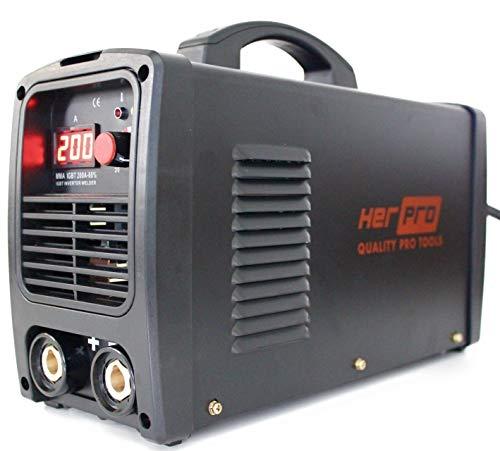 HerPRO Soldador Inverter Profesional. -ENTREGA EN 24-48 HORAS- IGBT De 200 Amperios 60% Factor De Marcha Y 3 Placas PCB Para Un Alto Rendimiento