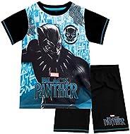 Marvel Black Panther Pijamas de Manga Corta para niños