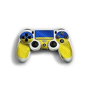 """Sony Playstation 4 Controller Designfolie """"Ukraine Flagge"""" Skin Aufkleber für Playstation 4 Controller (PS4)"""