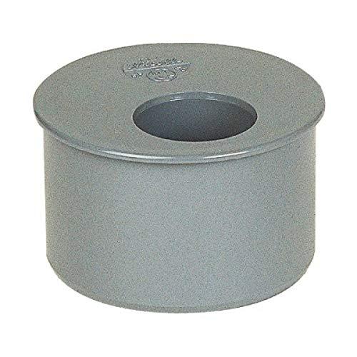 Tampon de réduction PVC gris Femelle Ø 100 80 mm Girpi