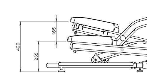MAXXUS® CROSSTRAINER CX 4.3f Ellipsentrainer klappbar - 5
