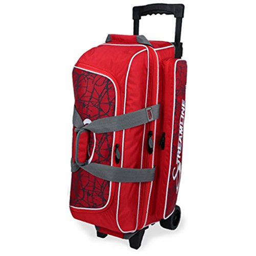 Storm Streamline 3Ball Roller Bowling Bag Rot Crackle/rot (Bowling Bag Für Einen Ball)