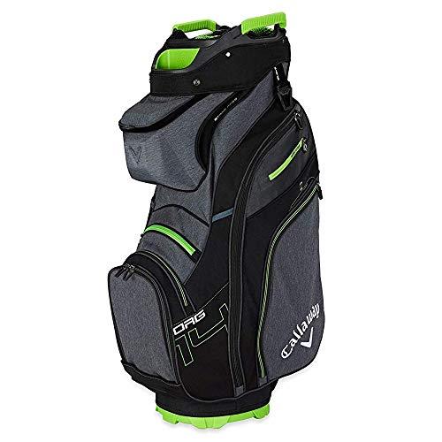 Callaway Golf Epic Flash Org 14 - Bolsa de Golf para Hombre, Titanio, Negro, Verde ácido, Talla única
