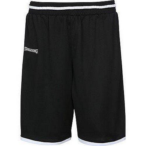 Spalding Move Kinder Shorts, schwarz/Weiß, 164