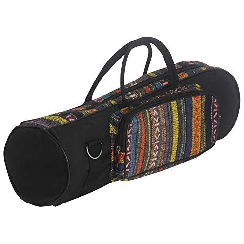 Higger Professionelle Trompetentasche Oxford Tasche aus weicher Baumwolle mit doppeltem Reißverschluss