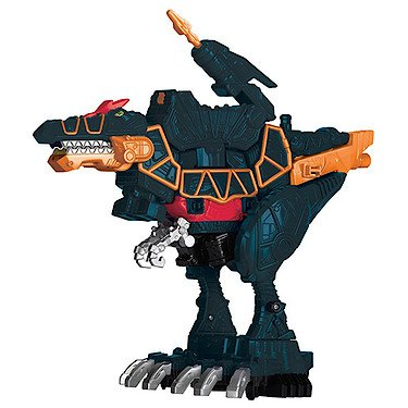 Power Rangers: Dino Super Charge – Spino Zord Deluxe – Figurine 23 cm + 1 Dino Charger