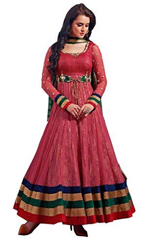 Beautiful Party Wear Pink Salwar Kameez