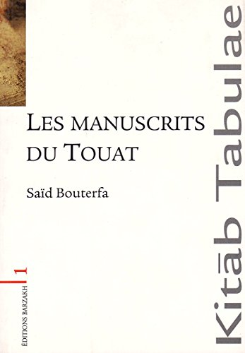 Les manuscrits du Touat