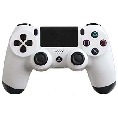 Glossy White Custom PS4 Controller