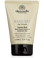 alessandro Hands Spa Age Complex Cream Rich Handcreme, 1er Pack (1 x 100 ml)