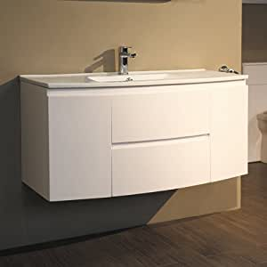 1000 Vanity Unit With Basin For Bathroom Ensuite Wall