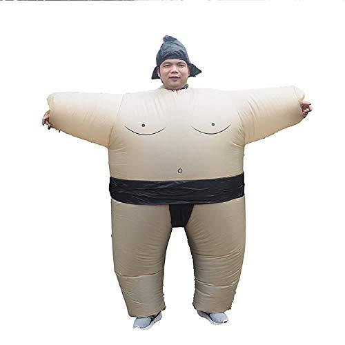 Blow Up Kostüm Besten - LPP Halloween Kostüm, Aufblasbare Sumo Wrestling Fat Suit Blow Up Kostüm Lustiges Kostüm Halloween,Adult