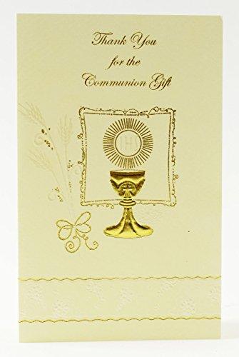 Religiöse Hochzeits-bands (Kommunion 12Stück Thank You Karten für Geschenke zu Gäste Luxus Party)