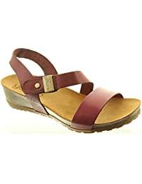 dfb74e5d853 Yokono - Ladies Capri 042 Sandals in Burgundy