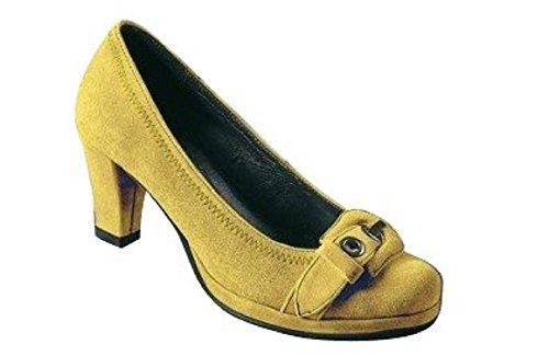 Andrea Conti Pumps, Scarpe col tacco donna Giallo (giallo)