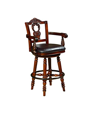 ashley-furniture-signature-design-north-shore-tall-uph-swivel-barstool1-cn-dark-brown-finish-by-ashl
