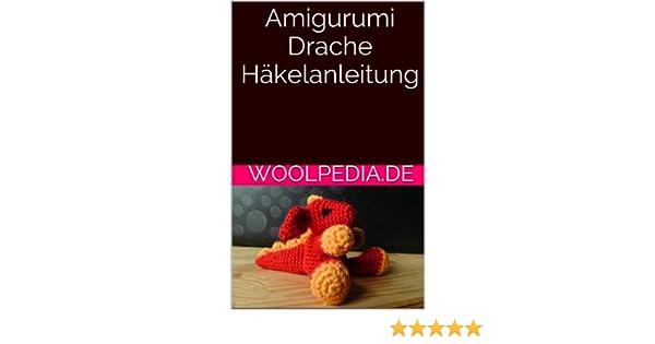 Drache Amigurumi Häkelanleitung von Little Bear Crochets | 315x600