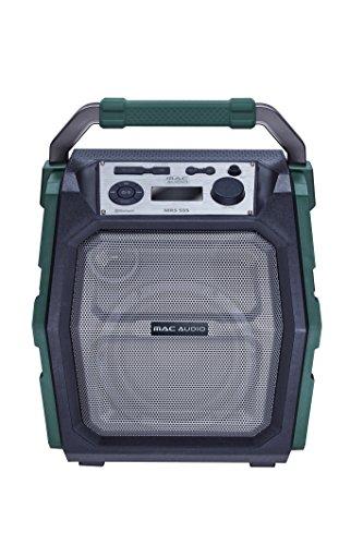 Mac Audio Mrs 555 | Mobiler Bluetooth Lautsprecher | Transportable Soundanlage für Outdoor und Unterwegs | Radio-Stereoanlage mit USB, Mikro und Aux-Eingang