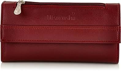 Utsukushii Women's Clutches(Maroon) (BG512E)