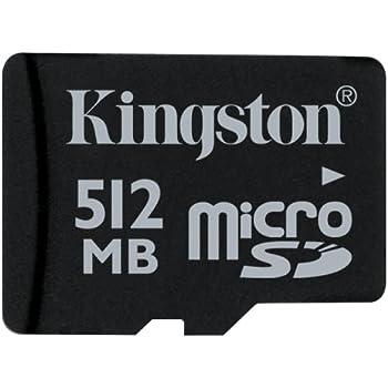 Tarjeta Memoria Micro SD 512 Megabytes Kingston: Amazon.es ...