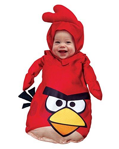 Angry Birds Babysack als Babykostüm (Bird Kostüm Schwarze Angry)