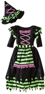 César D662 - Disfraz de bruja para niña (talla 92)