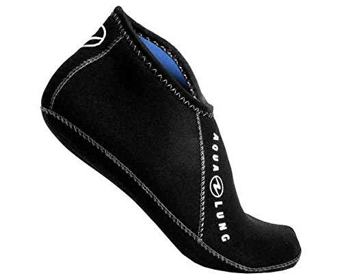 Aqualung NeoprensockenElastic Ergo Sock Low Top 3mm, Schwarz, Größe 48-49