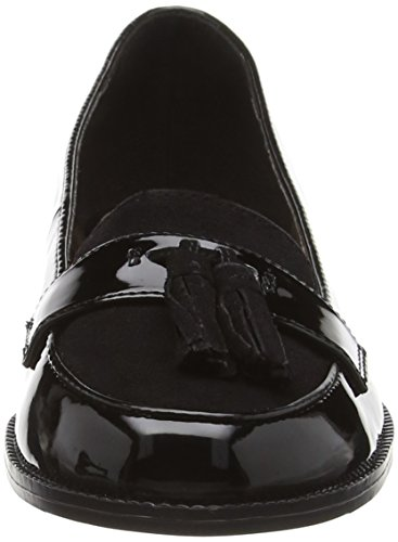 New Look - Luto, Mocassini Donna Nero (Black (01/Black))